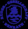 Rundes Wappen (blau auf weiß)